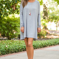 Day By Day Tunic, Grey