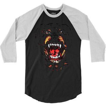 givenchy dog 3/4 Sleeve Shirt
