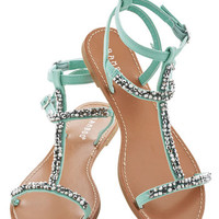 ModCloth Pastel Beachside Browsing Sandal