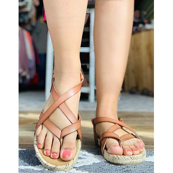 Blowfish Malibu Granola Rope Sandals in SAND