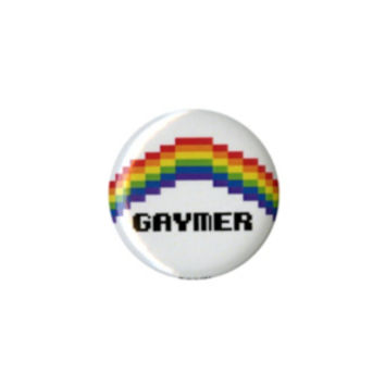 Gaymer Rainbow Pin