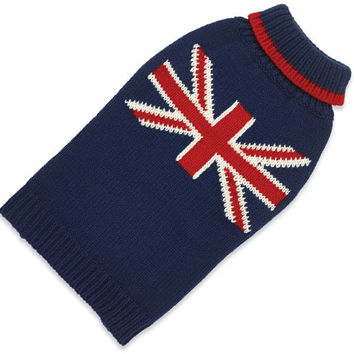 Hand Knit Sweater Union Jack