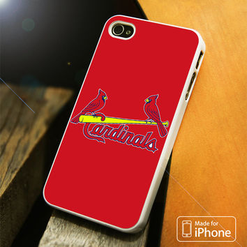 ST LOUIS CARDINALS TWO BIRDS iPhone 4(S),5(S),5C,SE,6(S),6(S) Plus Case