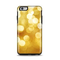 The Glistening Golden Unfocused Light Speckles Apple iPhone 6 Plus Otterbox Symmetry Case Skin Set