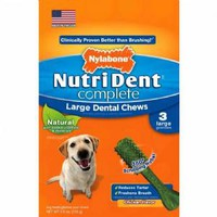 NutriDent Complete Large Dental Chews 3 pack