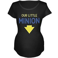 Our Little Minion Maternity Soft T Shirt