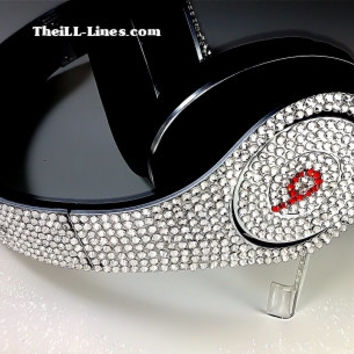 Beats by Dre Headphones made with Swarovski Crystals