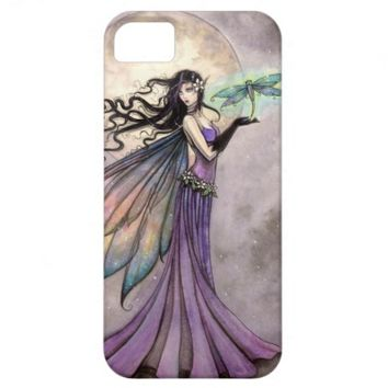 Night Dragonfly Fairy Fantasy Art iPhone 5 Cases
