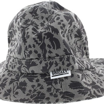 Grizzly Springfield Camo Bucket Hat Small/Medium Grey