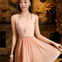 2013 style pink chiffon elegant dress final sale L002 from YRB