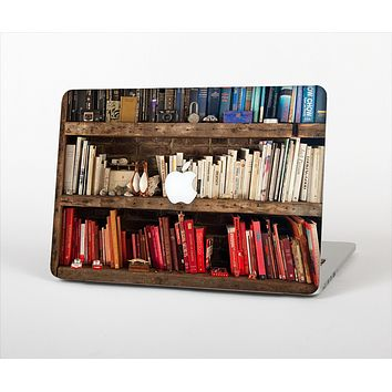 The Vintage Bookcase V1 Skin Set for the Apple MacBook Air 13""