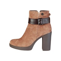 U.S. Polo Women Brown Ankle boots