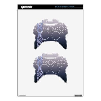 Dark Purple Lights Xbox 360 Controller Skins