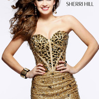 Sherri Hill Short Pageant Dress 1429