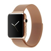 Rose Gold Decouart Milanese loop Stainless Steel Bracelet