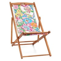 Lilly Pulitzer for Target Teak Beach Chair - Nosie Posey