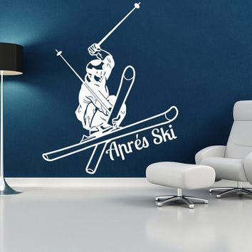 Apres Ski Wall Decal
