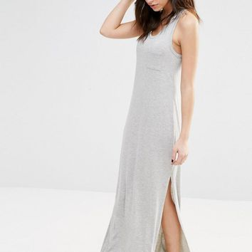 New Look | New Look Racer Back Maxi Dress at ASOS