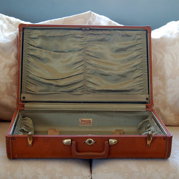 Vintage Samsonite 21-inch Hard-Sided Suitcase - Style 4621 - Shwayder Bros.