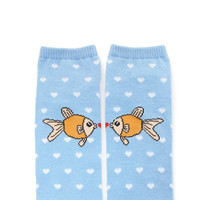 Fish Love Ankle Socks