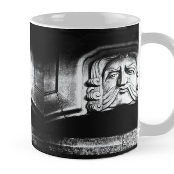 'Disapproving Scowl' Mug by Karen Stahlros