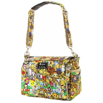 Ju-Ju-Be Better Be Messenger Style Diaper Bag - Tokidoki Animalini