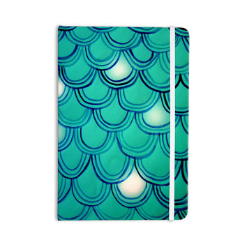 "Theresa Giolzetti ""Mermaid Tail"" Teal Blue Everything Notebook"