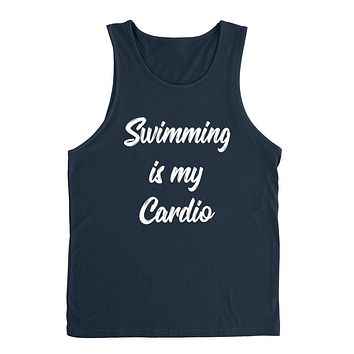 Swimming is my cardio sport funny cool love swimming birthday gift for him for her  Tank Top
