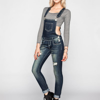 ALMOST FAMOUS Womens Skinny Overalls | Overalls