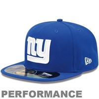 New Era New York Giants On-Field Performance 59FIFTY Fitted Hat - Royal Blue