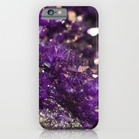 Geode Abstract Amethyst iPhone & iPod Case by Lisa Argyropoulos | Society6