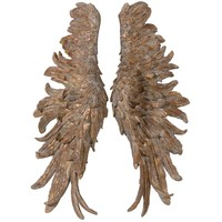 NEW! Gold Angel Wings