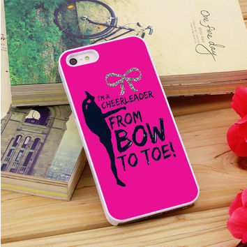 Bow To Toe Cheer iPhone 5|5S|5C Case Auroid