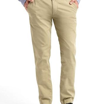 Everyday stretch slim fit khakis | Gap