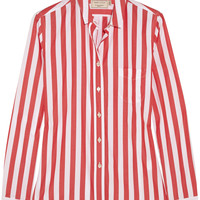 Maison Kitsuné - Striped cotton shirt