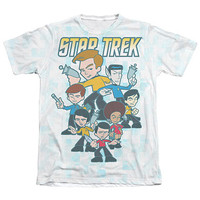 Star Trek Quogs Crew Sublimation T-Shirt