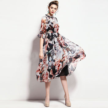 Marilyn Monroe Printed Dress