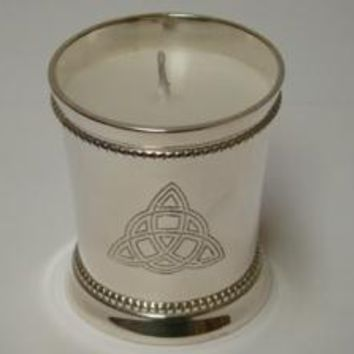 Triquetra Votive Candle Holder