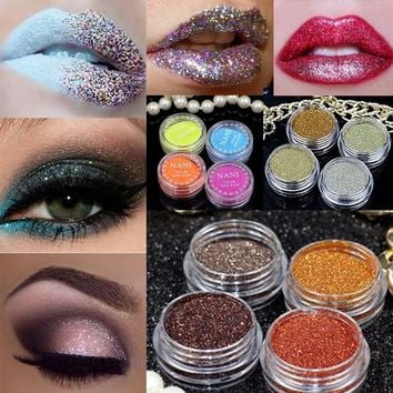 24 Colors 1pcs Eyeshadow with Eye Primer Luminous Eye Shadow Band Stage Makeup Matte Eye Shadow Glitter Cosmetics