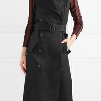 Victoria Beckham - Twill trench coat