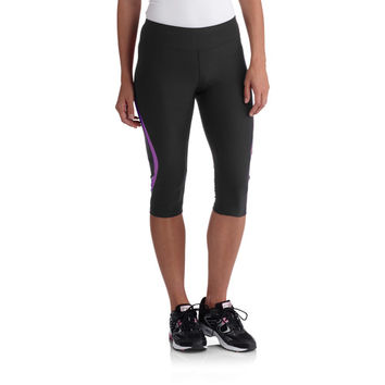2a309b6f1d852 Walmart: Avia Women's Performance Capri Pants with Side Stripe