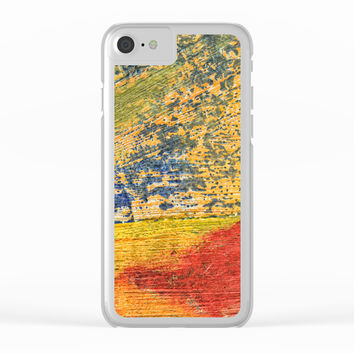 colors Clear iPhone Case by abeerhassan