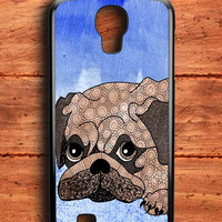 Painting Pug Samsung Galaxy S4 Case