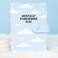 Mentally Somewhere Else Passport Holder