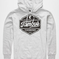Famous Stars & Straps Top Choice Mens Hoodie Gray  In Sizes
