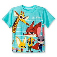 Toddler Boys' Zootopia T-Shirt, 5T