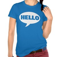 HELLO Talk BUBBLE Graphic TEE