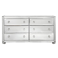 Simplicity Mirrored 6 Drawer Chest | ho15 bedroom4 | Bedroom Inspiration | Inspiration | Z Gallerie