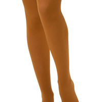 Tabbisocks Statement Tights for Every Occasion in Mustard