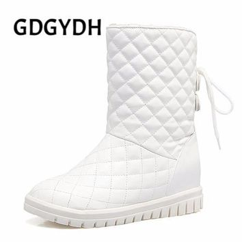 GDGYDH -  Comfortable Quilted Plush Lined Height Increasing Snow Boots*
